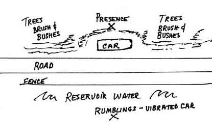wanaque drawing car parked